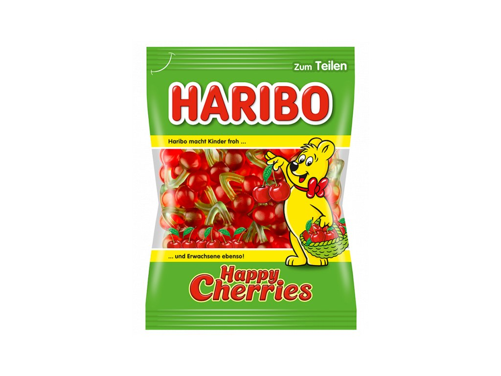 4122 haribo happy cherries 100g