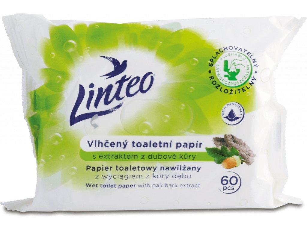 linteo vlhceny toaletny papier s extraktom z dubovej kory