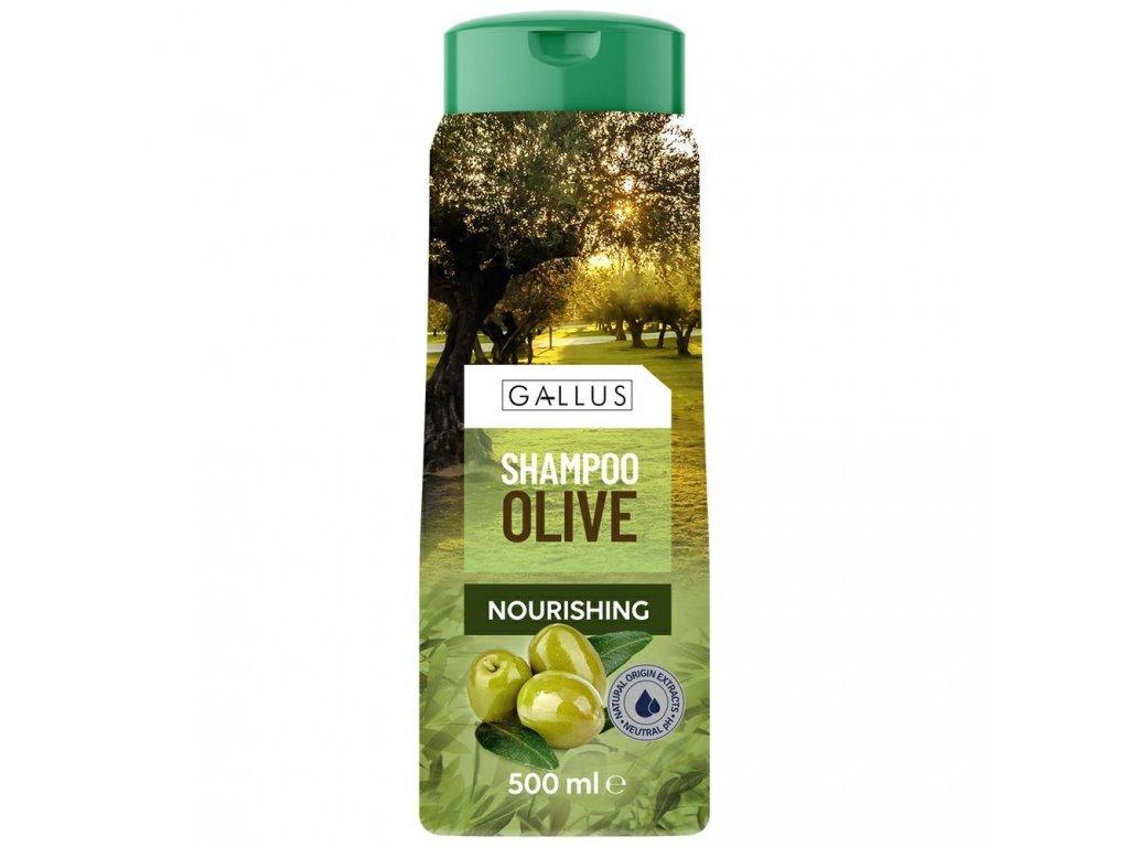 Gallus Šampon na vlasy Oliva 500ml