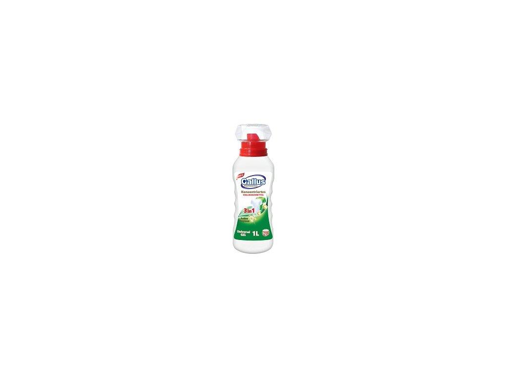 GALLUS, Prací gel 3v1, UNIVERZAL, 1L, 28 dávek