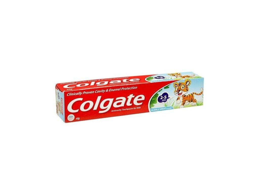 Colgate dětská zubní pasta bubblefruit 2-5 let 50 ml