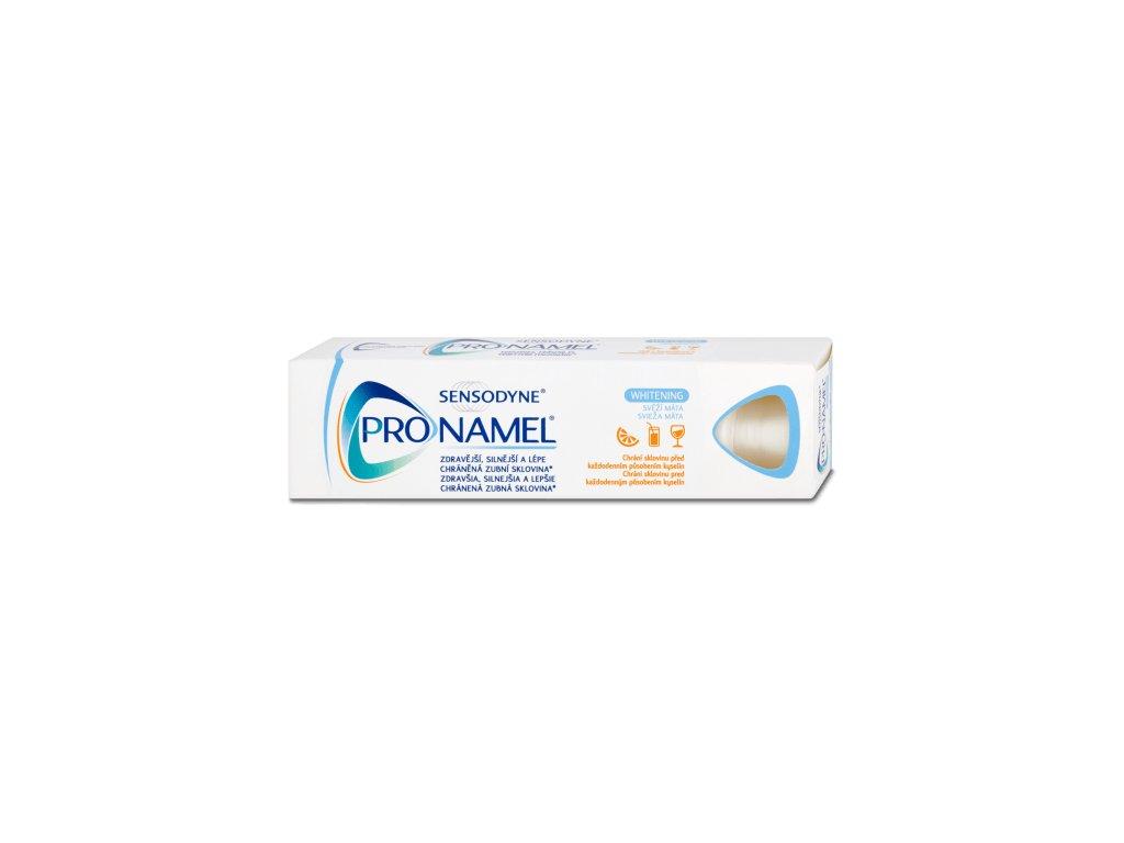 sensodyne zubni pasta pronamel whitening