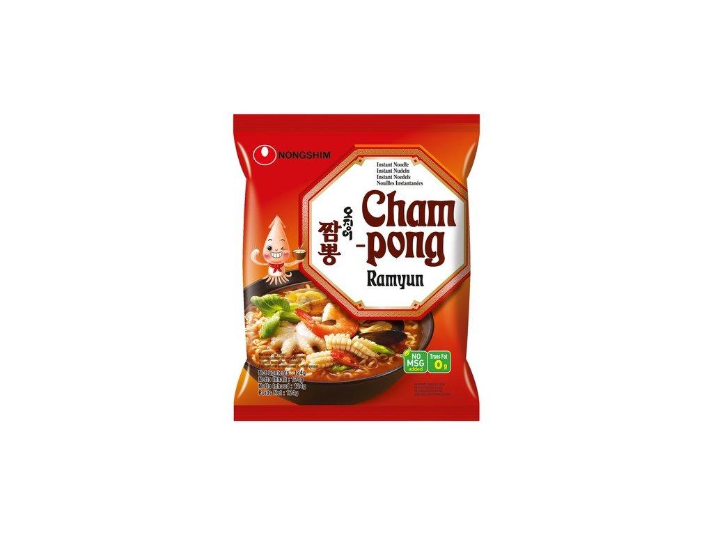 Nongshim cham pong, Korejská polévka 124gr - pálivá