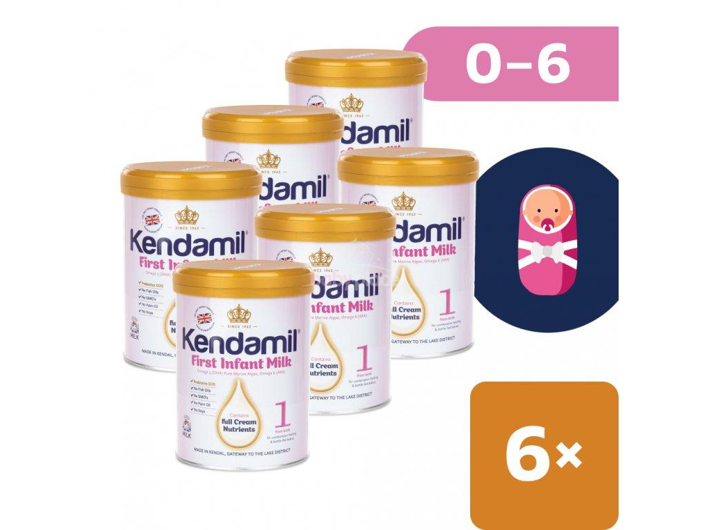 6x kojenecke mleko 900g kendamil first infant milk 1 802539 22