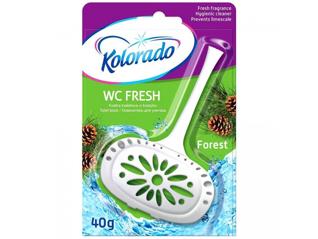 kolorado kostka wc fresh 40g forest 24