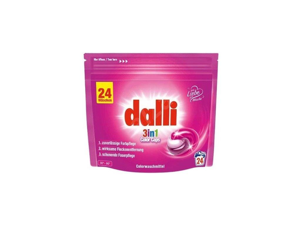 Dalli Color  3V1 kapsle na praní  24KS