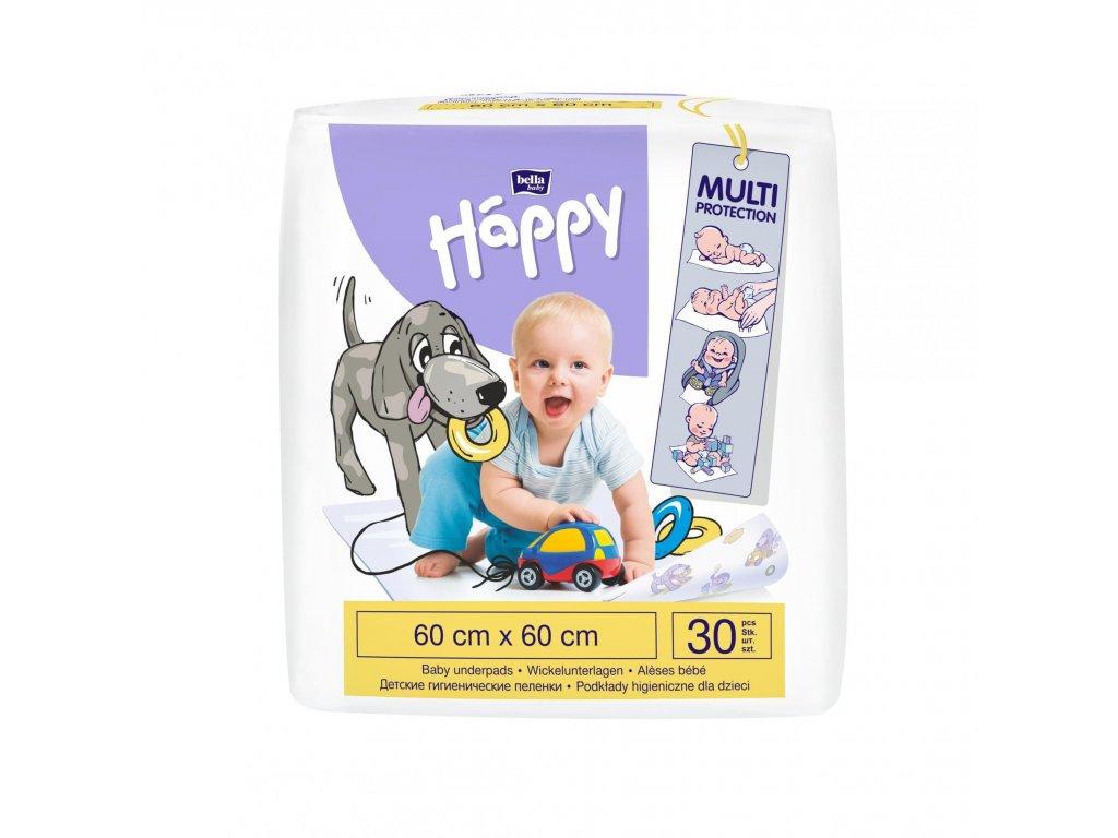 Bella Happy přebalovací podložky 60 x 60 30 ks