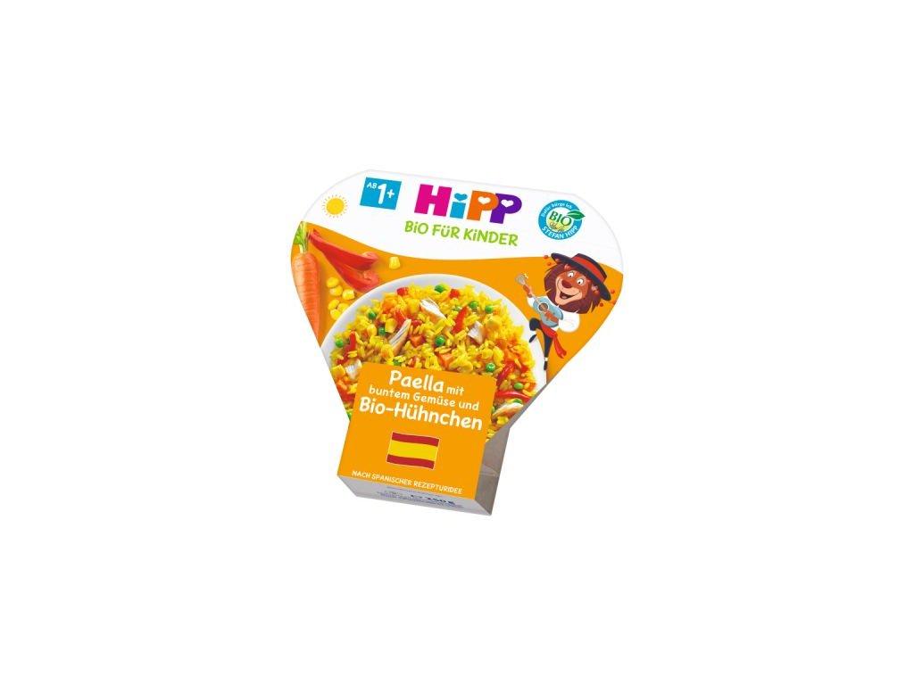 HiPP BIO Paella se zeleninou a kuřecím masem 250 g