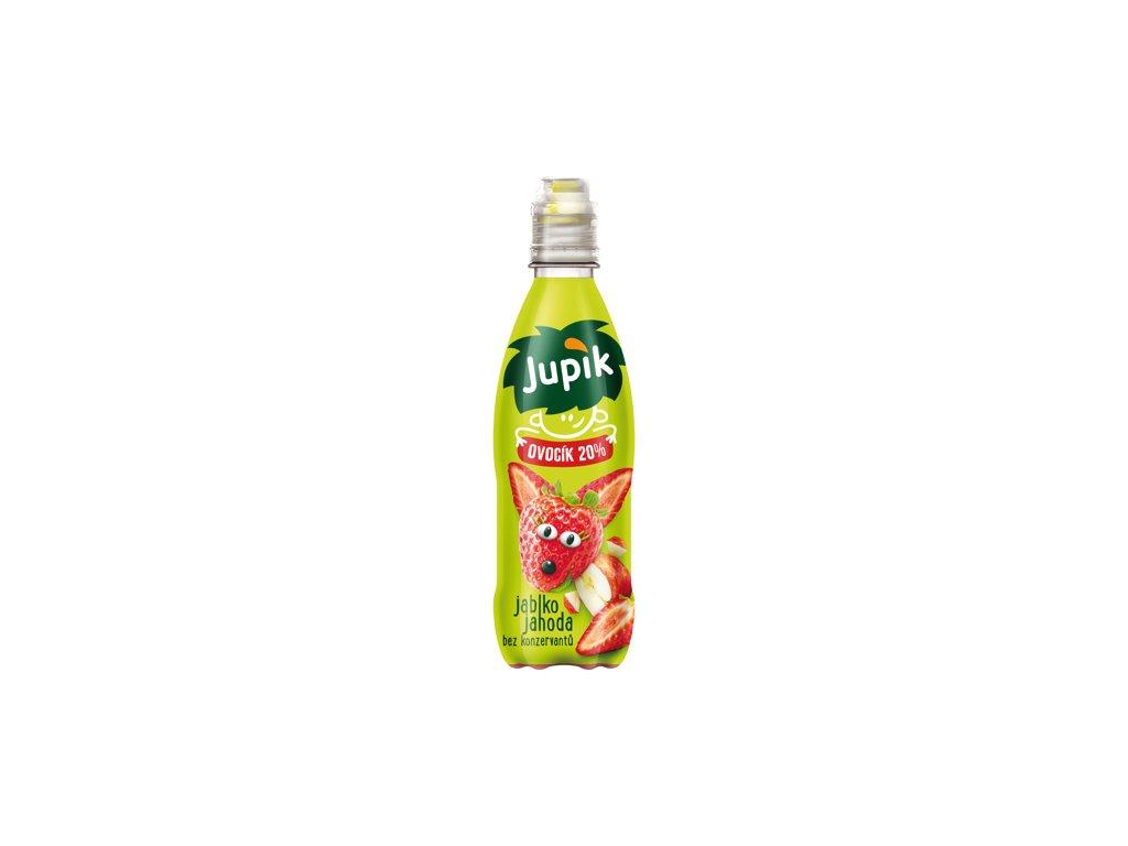 Jupík Ovocík 20% Jablko jahoda 330 ml