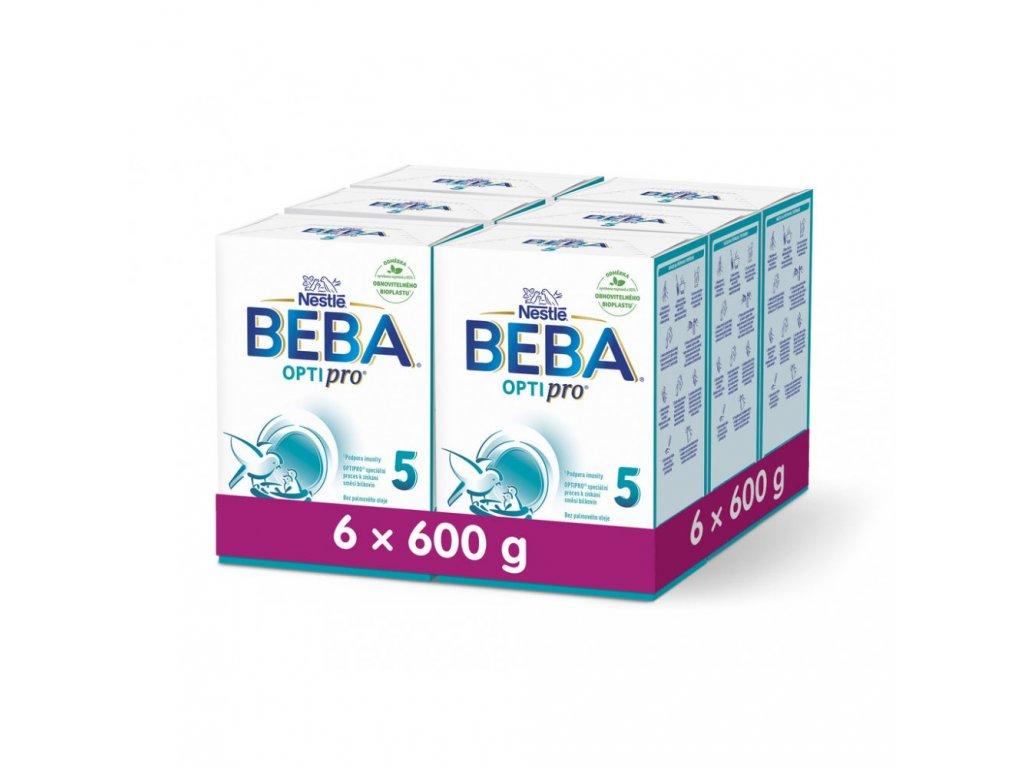 BEBA OptiPro 5 6 x 600 g