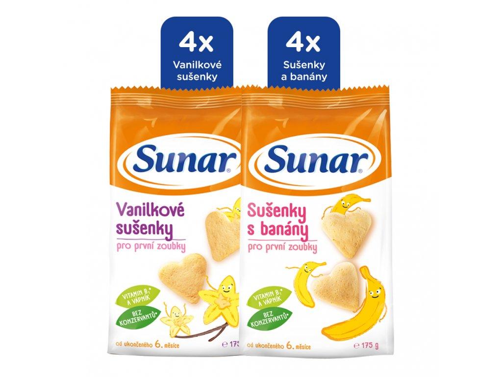 sunar-detske-susenky-mlecne-mix-karton-8x175g