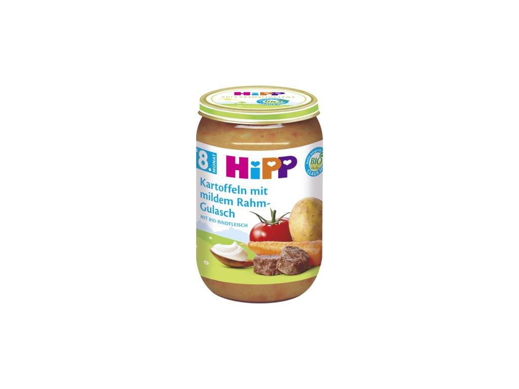34819 hipp brambor s jemnym gulasem 8m 220g