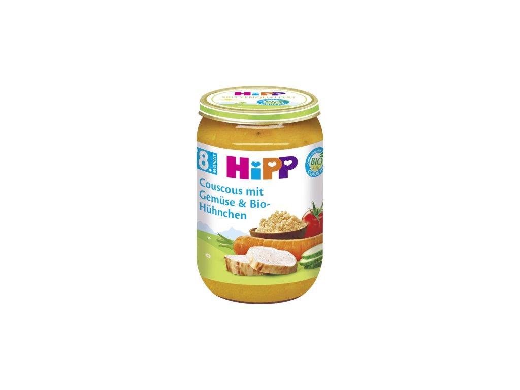34849 hipp kuskus zelenina bio kure 8m 220g