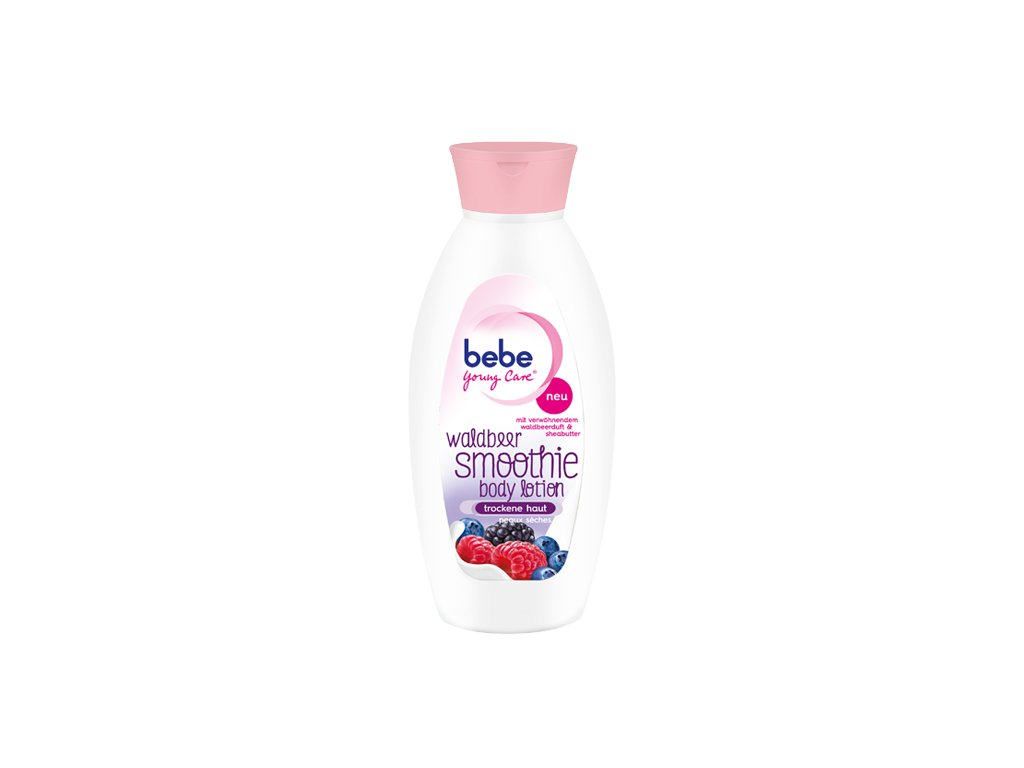 waldbeer smoothie body lotion detail