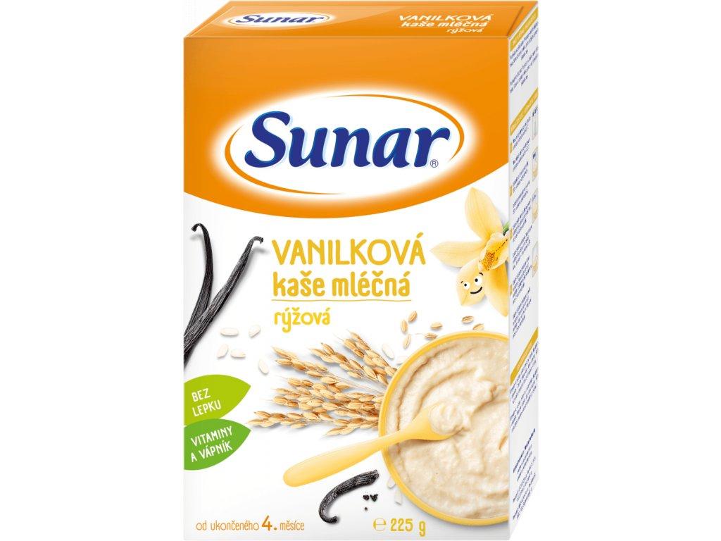 sunar mlecna ryzova kase vanilkova