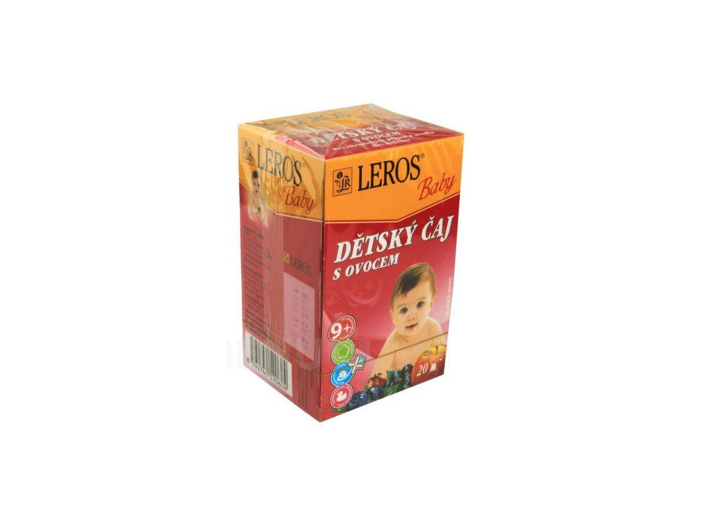 51549 leros baby detsky caj s ovocem 20x2g