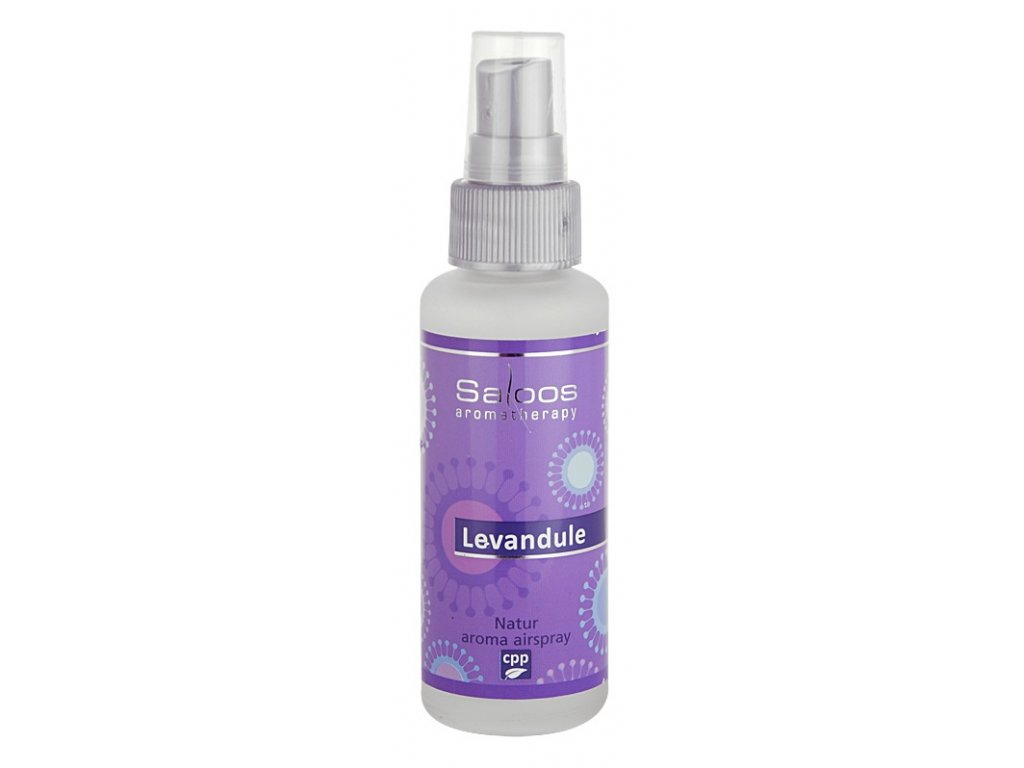 saloos natur aroma airspray lavender bytovy sprej 12