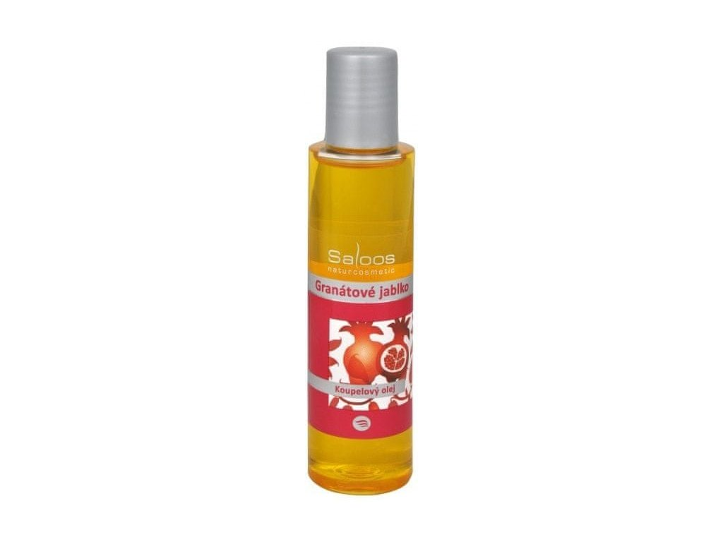 53793 saloos koupelovy olej granatove jablko 125 ml