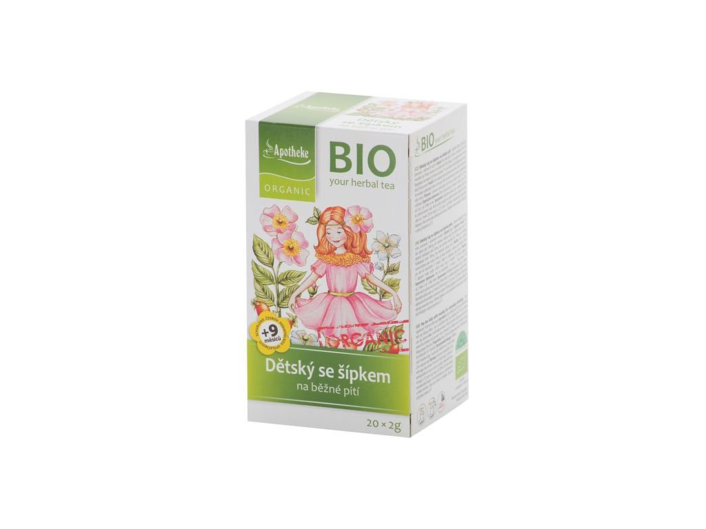 55359 apotheke organic bio detsky ovocny caj se sipkem 20x2g