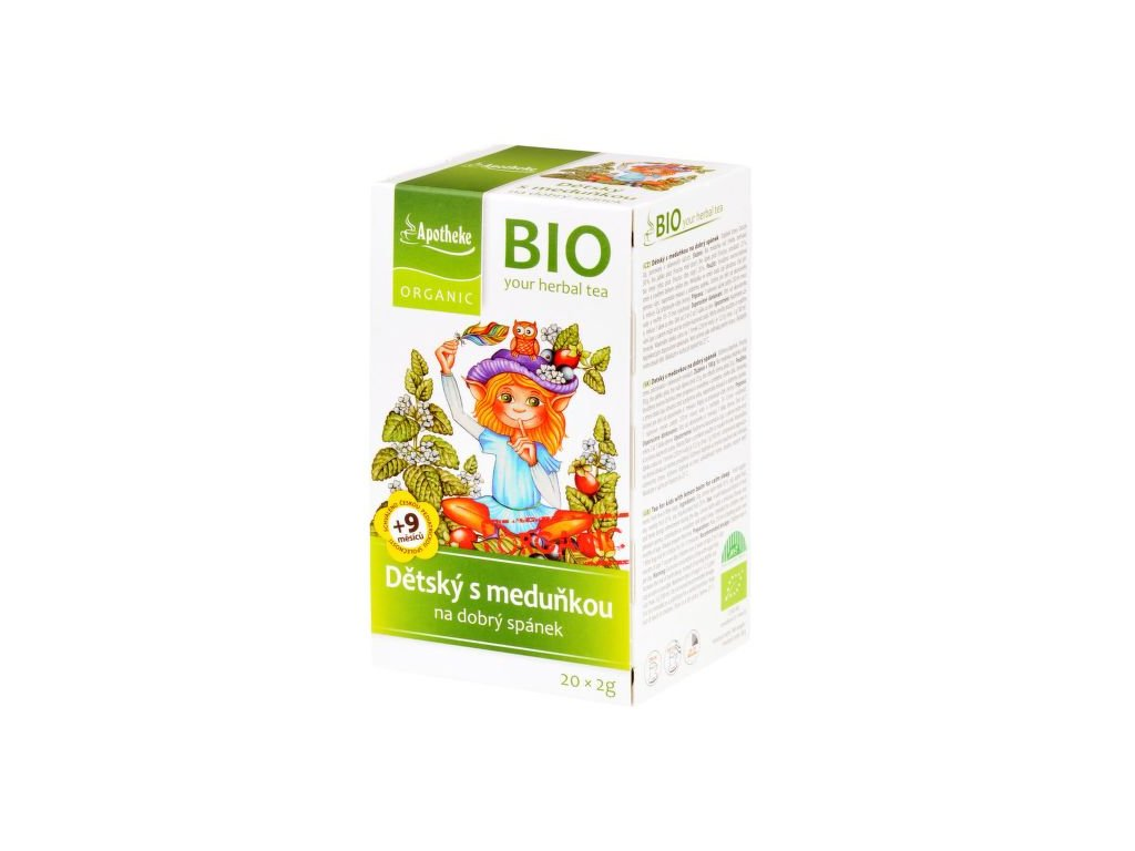 55368 apotheke organic bio detsky ovocny caj s medunkou 20x2g