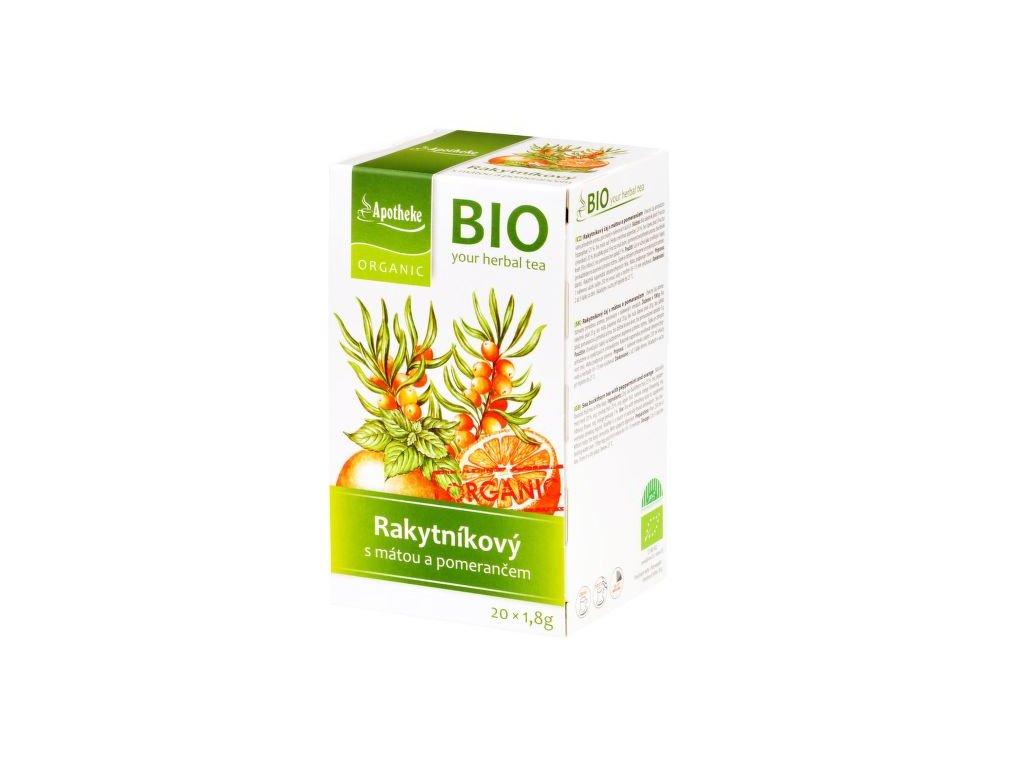 55377 apotheke organic bio caj rakytnikovy s matou a pomerancem 30 g