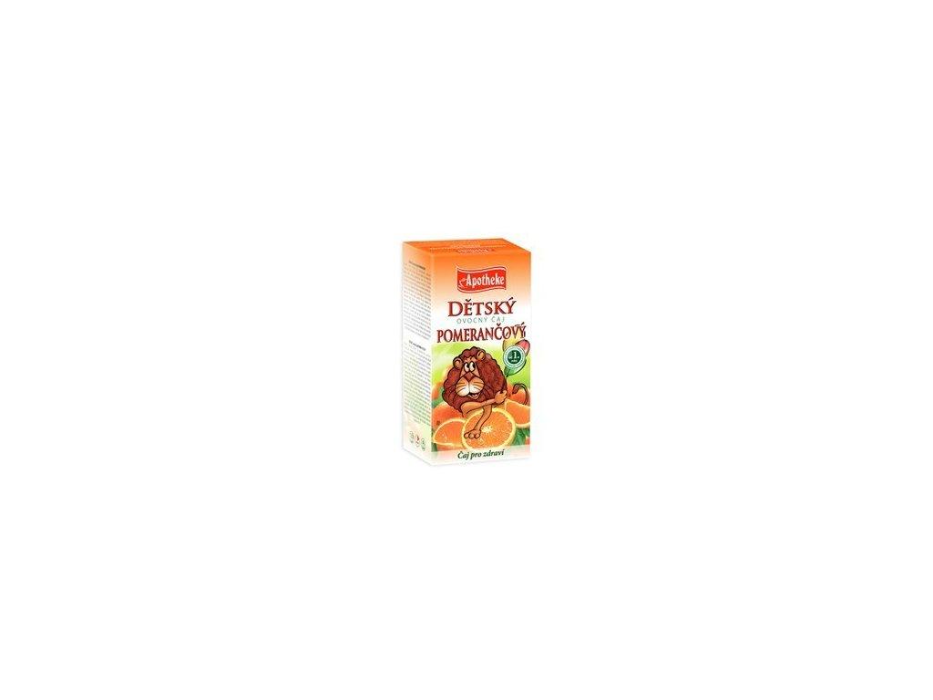 55452 apotheke detsky ovocny caj pomerancovy 20x2g