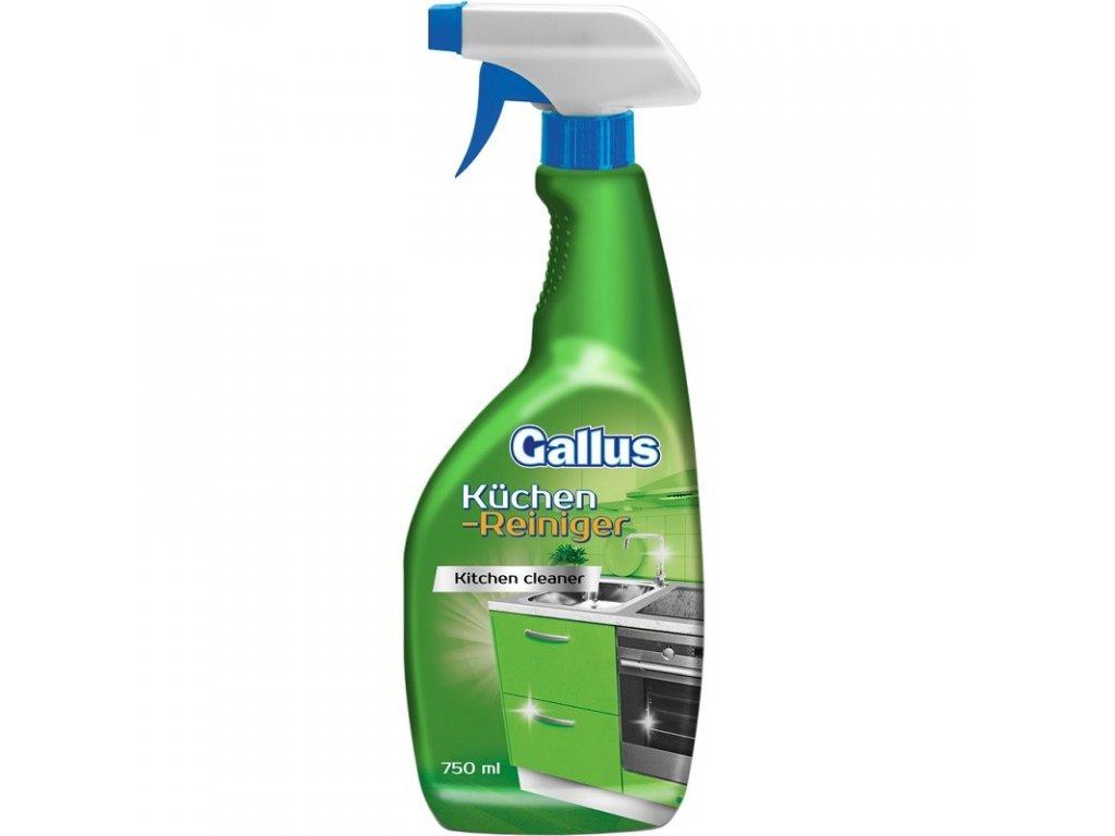GALLUS, Univerzální kuchyňský čistič povrchů, 750ml