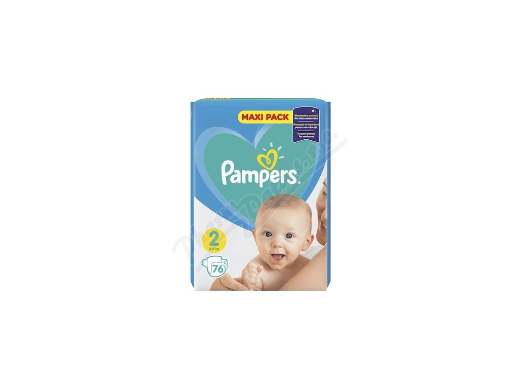 72713 pampers new baby jednorazove pleny 2 3 6kg 76 ks