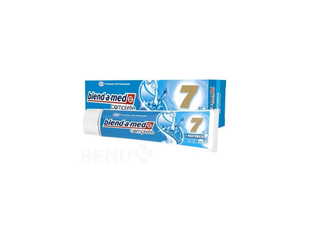 79862 bledn a med complete 7 100 ml extra fresh mouthwash
