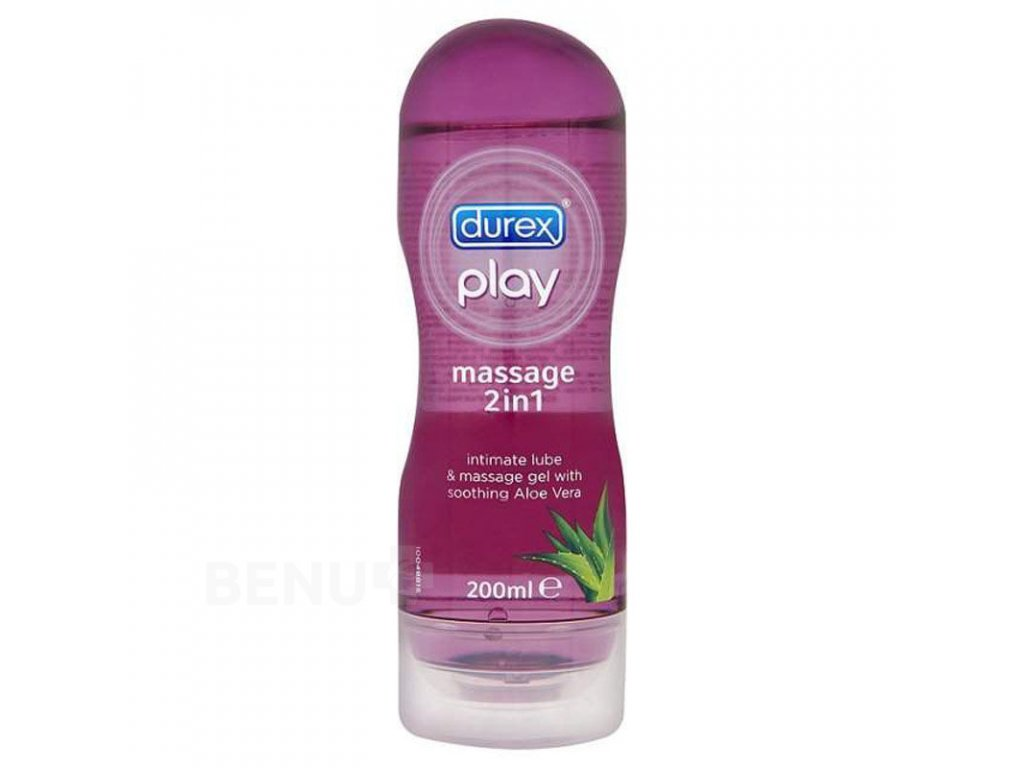 98612 durex play massage gel 2v1 s aloe vera 200 ml