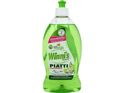 Winni´s, Winni´s Piatti Lime koncentrovaný mycí prostředek na nádobí s vůní limetky 500 ml