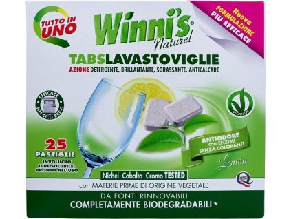 105305 1 winni s tabs lavastoviglie tablety do mycky nadobi s vuni citronu 25 ks