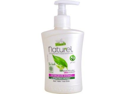 105956 1 winni s naturel sapone intimo the verde tekute mydlo pro intimni hygienu se zelenym cajem 250 ml