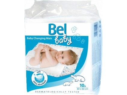 1120 bel baby podlozky pro prebalovani kojencu 60cm x 60cm 10ks