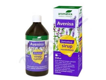 123206 aromatica jitrocelovy sirup avenisa od 10let 210 ml
