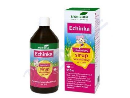 123209 aromatica sirup echinka jitrocelovy od 3 let 210 ml