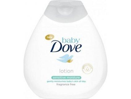 140864 dove hydratacni telove mleko bez parfemace pro deti baby sensitive moisture lotion 400 ml