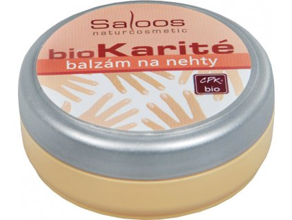 170777 saloos bio karite balzam na nehty 19 ml