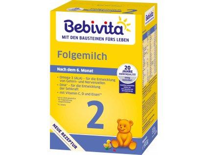 BEBIVITA 2, Pokračovací kojenecké mléko, 500g