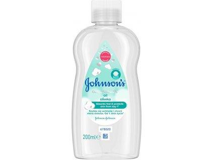 193577 johnson s baby telovy olej pro deti cottontouch oil 200 ml