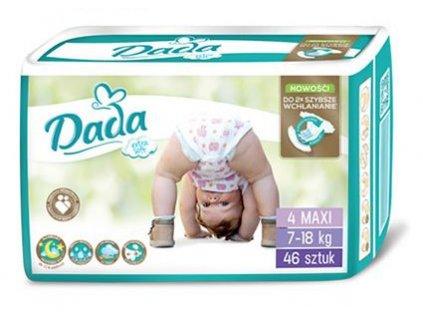 DADA Extra Soft, jednorázové pleny, vel.:4, 7-18kg, 46ks