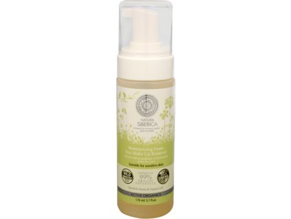 219425 natura siberica hydratacni pena k odlicovani oci moisturizing foam eye make up remover 170 ml