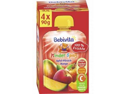 2248 bebivita kapsicky maxipack 4x90g jablko broskev mango