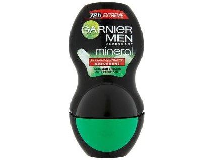 225494 garnier mineralni antiperspirant roll on pro muze 72h extreme mineral 50 ml