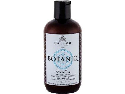 229019 kallos regeneracni sampon na vlasy a vlasovou pokozku botaniq deep sea regenerative scalp revitalizing shampoo 300 ml