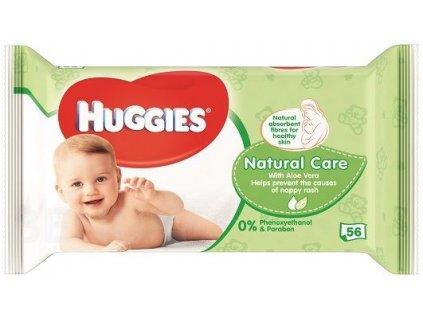 281372 huggies vlhcene ubrousky natural care 56ks