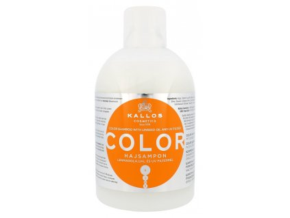 285383 kallos color sampon na barvene vlasy se lnenym olejem a uv filtry 1000 ml