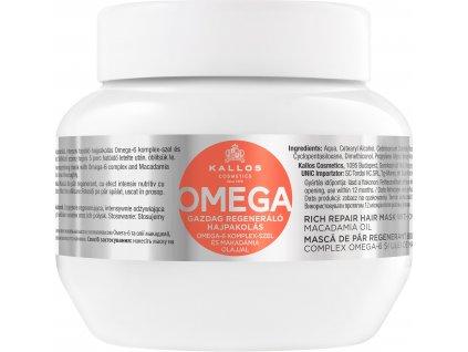 285473 kallos omega regeneracni maska na vlasy s omega 6 komplexem a makadamia olejem 275 ml