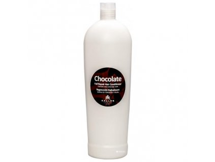 285560 kallos chocolate kondicioner pro obnovu suchych a poskozenych vlasu chocolate full repair hair conditioner 1000 ml