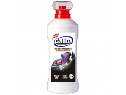 GALLUS, Prací gel 3v1, BLACK, na černé prádlo, 2L, 57 dávek